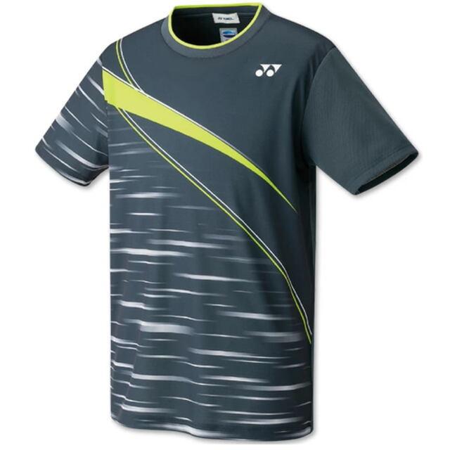 ヨネックス UNI ゲームシャツ(フィットスタイル) カラー:チャコール(075) 品番:10410