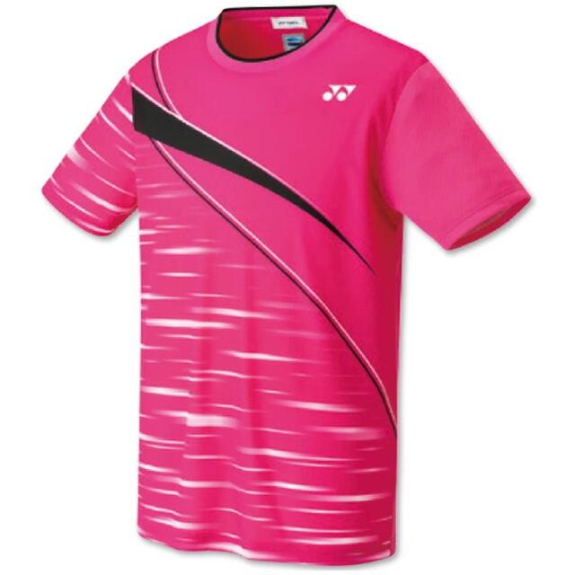 ヨネックス UNI ゲームシャツ(フィットスタイル) カラー:ベリーピンク(654) 品番:10410