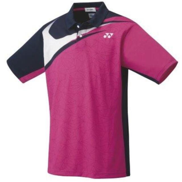 ヨネックス UNI ゲームシャツ  カラー:ベリーピンク(654) 品番:10412