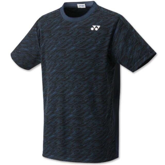 ヨネックス UNI ゲームシャツ(フィットスタイル) カラー:ネイビーブルー(019) 品番:10413