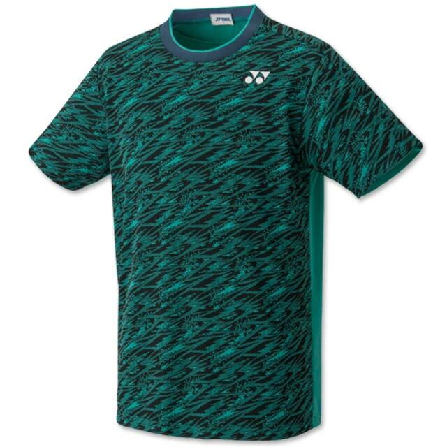 ヨネックス UNI ゲームシャツ(フィットスタイル) カラー:エメラルドグリーン(750) 品番:10413