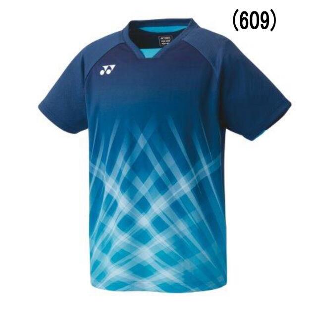 *ヨネックス MEN ゲームシャツ(フィットスタイル)   カラー:ナイトスカイ(609)    品番:10419