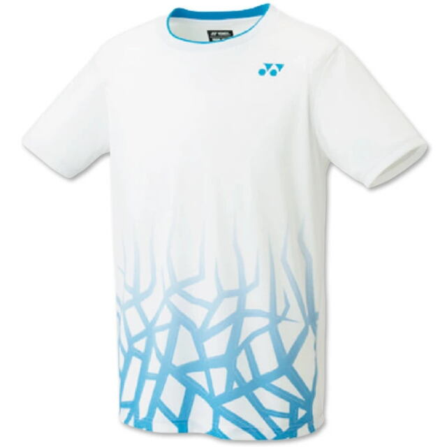 ヨネックス UNI ゲームシャツ(フィットスタイル) カラー:ホワイト(011) 品番:10427
