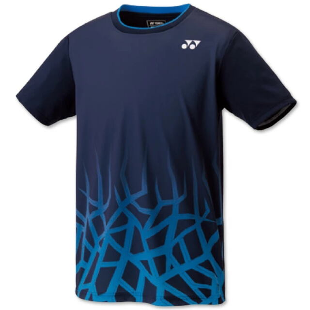 ヨネックス UNI ゲームシャツ(フィットスタイル) カラー:ネイビーブルー(019) 品番:10427