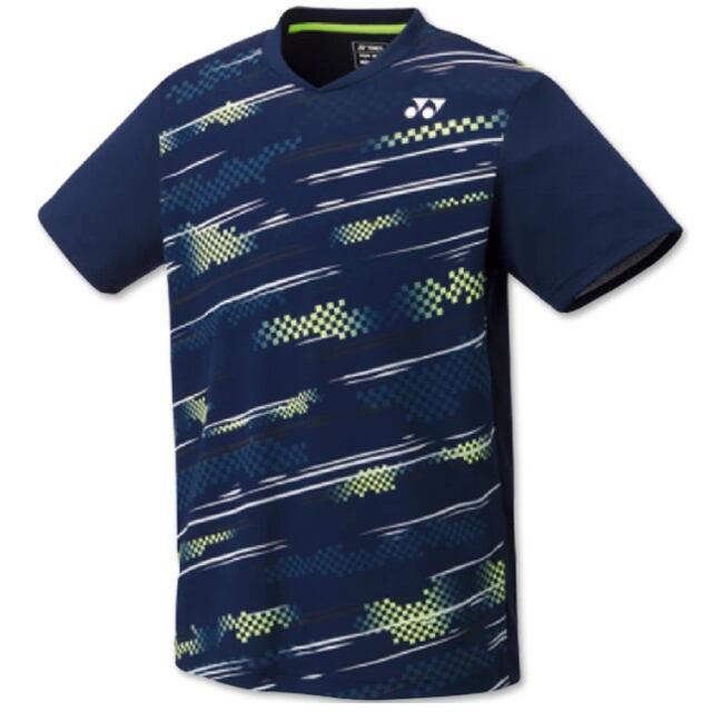 ヨネックス UNI ゲームシャツ(フィットスタイル) カラー:ネイビーブルー(019) 品番:10428
