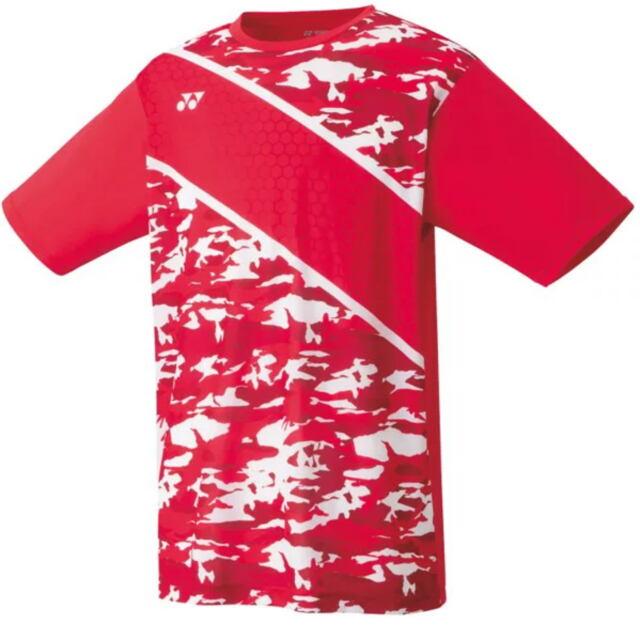 【40%OFF】ヨネックス メンズ ドライTシャツ カラー: フラッシュレッド(639) 品番:16437