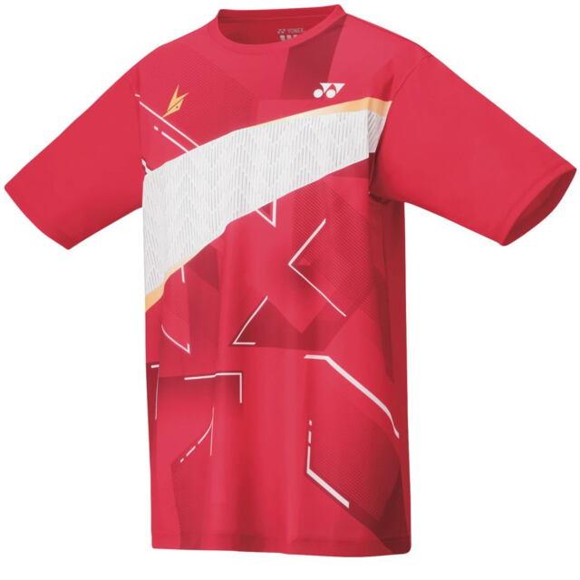 【40%OFF】ヨネックス メンズ ドライTシャツ  カラー:フラッシュレッド(639) 品番:16440