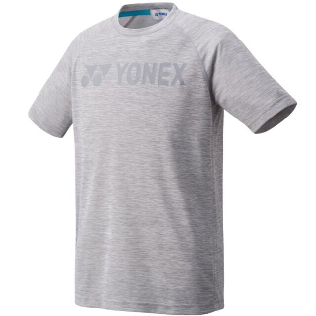 【40%OFF】ヨネックス ユニ ドライTシャツ(フィットスタイル) カラー: グレー(010) 品番:16469