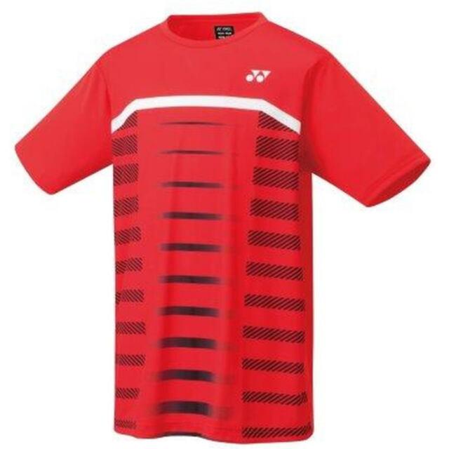 【40%OFF】ヨネックス メンズ ドライTシャツ  カラー:ルビーレッド(338) 品番:16503
