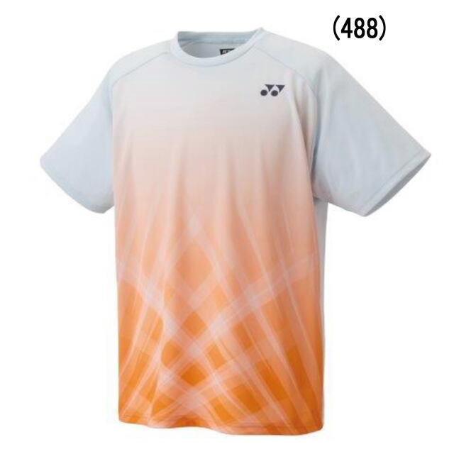 ヨネックス UNI  ドライTシャツ  カラー:サンシャインオレンジ(488)  品番:16533