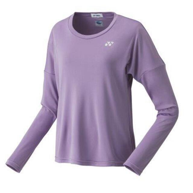 【40%OFF】ヨネックス ウィメンズ ロングスリーブTシャツ  カラー:ライトパープル(165) 品番:16545
