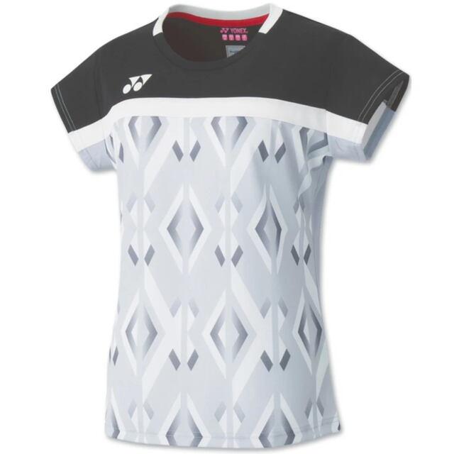 【40%OFF】ヨネックス WOMEN ゲームシャツ  カラー:アイスグレー(326)  品番:20528