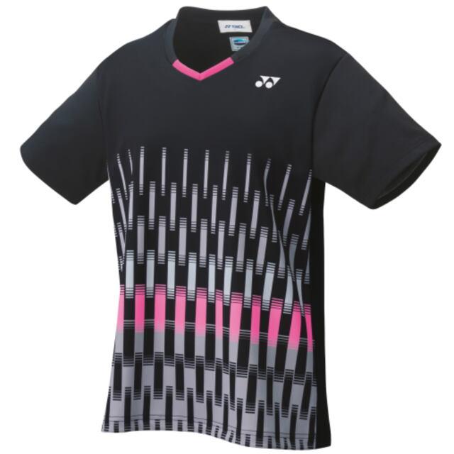【40%OFF】ヨネックス ウィメンズ ゲームシャツ  ブラック(007) 品番:20554