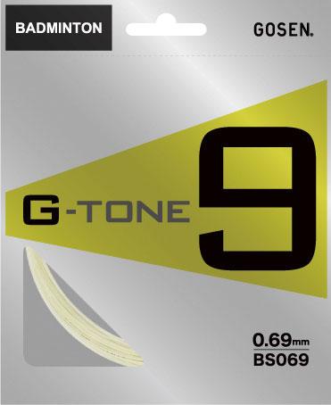 ゴーセン バドミントンガット   G-TONE9   BS069NA