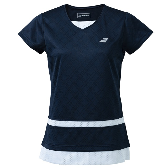 【レターパックライト便対応】バボラ レディース PURE  ショートスリーブシャツ<BWG1373>