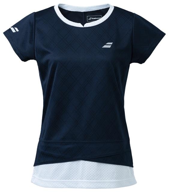 【レターパックライト便対応】バボラ レディース PURE  ショートスリーブシャツ<BWG1374>