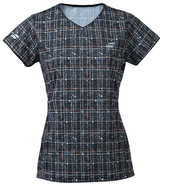 【レターパックライト便対応】バボラ レディース PURE  ショートスリーブシャツ<BWG1377>
