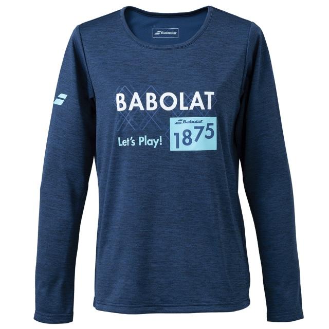 【レターパックライト便対応】バボラ レディース PURE  ロングスリーブシャツ<BWP1573>