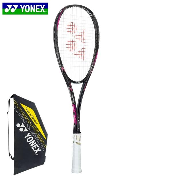 【送料無料】【張り代無料】【サービスガット付き】ヨネックス ソフトテニスラケット ネクシーガ80S マットブラック<NXG80S_798>