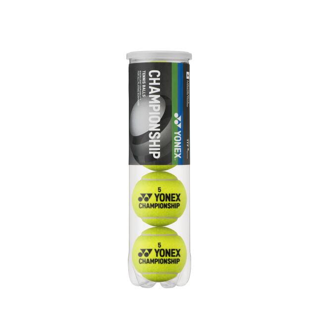 ヨネックス テニスボール チャンピオンシップ(4個入ペット缶) 品番:TB-CHS4