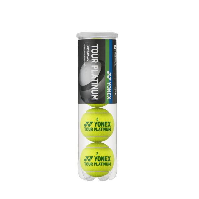 ヨネックス テニスボール ツアープラチナム(4個入缶) 品番:TB-TPL4