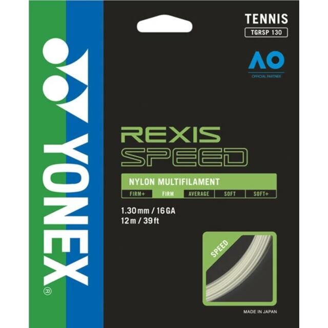 YONEXテニスストリング REXIS SPEED130 ゲージ:1.30mm 品番:TGRSP130