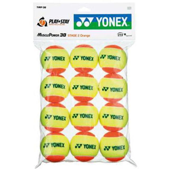 ヨネックス テニスボール ジュニア用 マッスルパワーボール30  TMP30(1ダース12個入り)