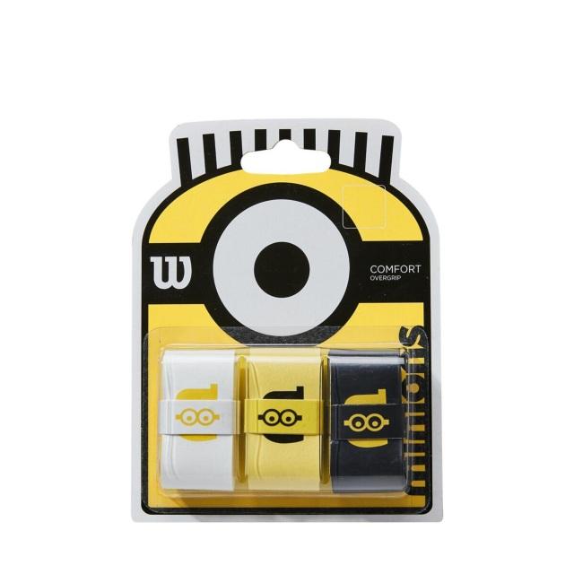 【限定品】ウィルソン グリップテープ MINIONS OVERGRIP 3P <WR8408401001>