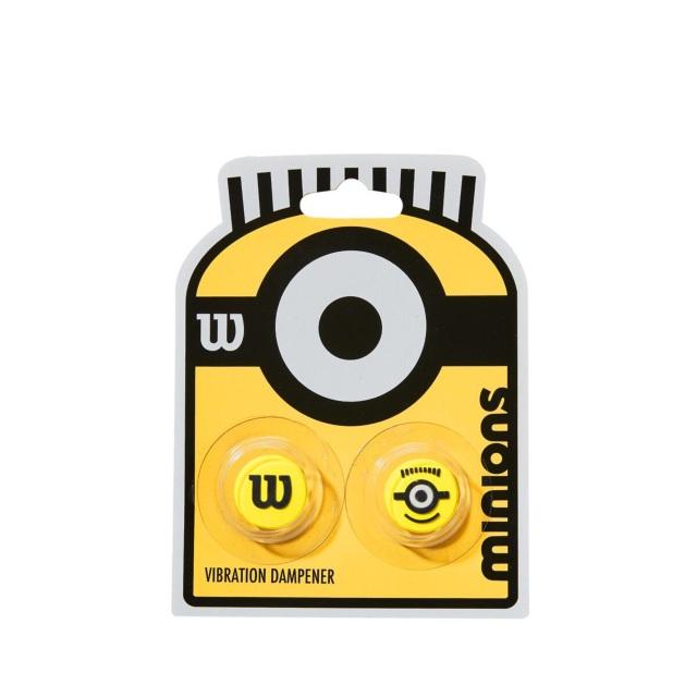 【限定品】ウィルソン 振動止め MINIONS VIBRATION DAMPENER <WR8408501001>