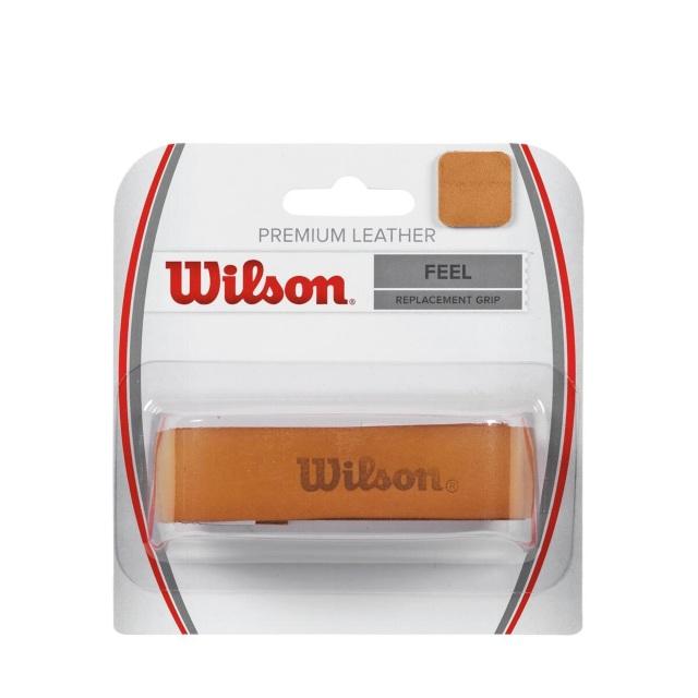 ウィルソン  アクセサリー レザーグリップ PREMIUM LEATHER GRIP(1本入) <WRZ420100>
