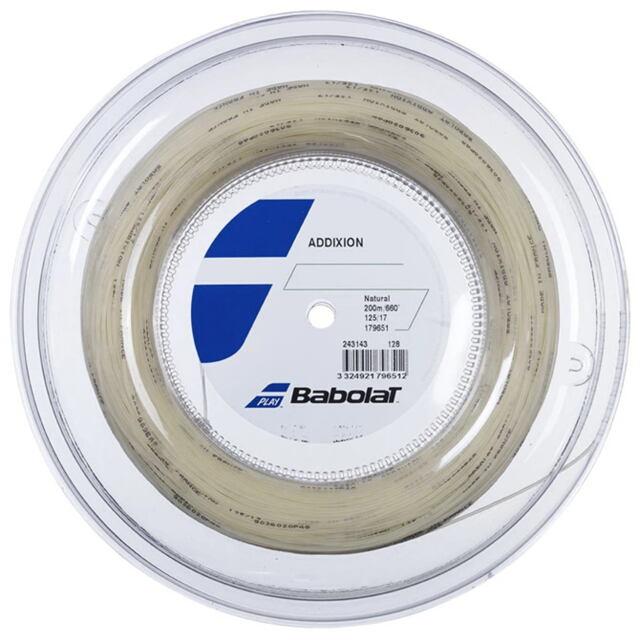 【送料無料】バボラ テニスストリング ナイロンマルチフィラメント アディクション ロール ゲージ:1.25mm 品番:243143