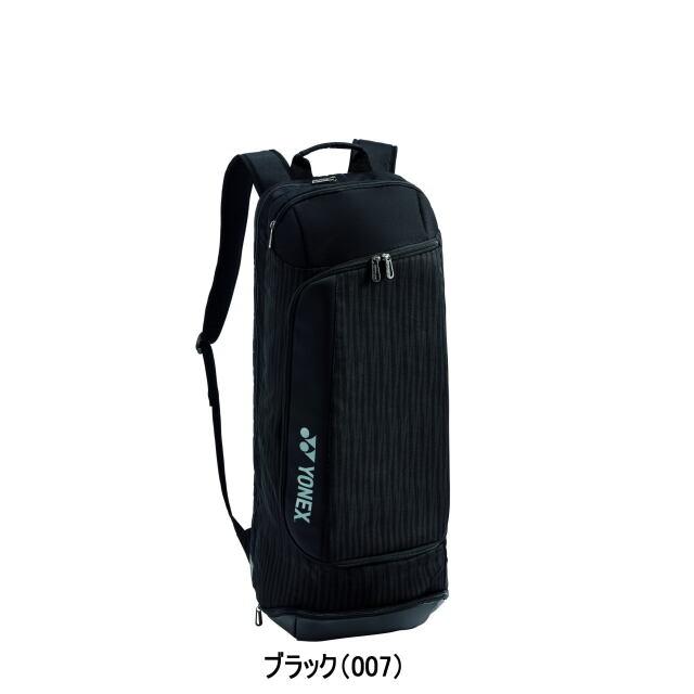 ヨネックス バックパック<テニス2本用>     BAG2019            カラー:ブラック