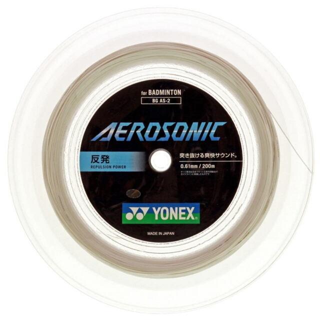 【送料無料】YONEXバドミントンストリング AEROSONIC 200mロール    品番:BGAS-2