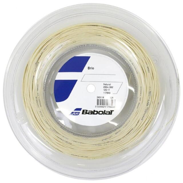 【送料無料】バボラ テニスストリング ナイロンマルチフィラメント ブリオ ロール ゲージ:1.25mm 品番:243118