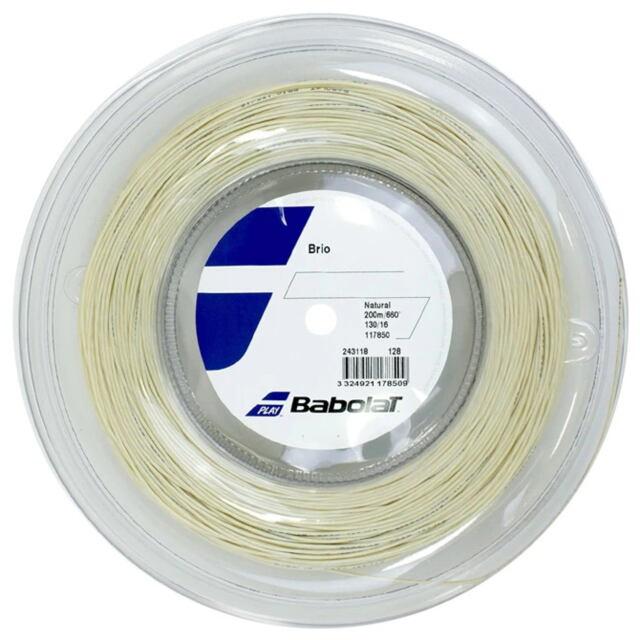【送料無料】バボラ テニスストリング ナイロンマルチフィラメント ブリオ ロール ゲージ:1.35mm 品番:243118