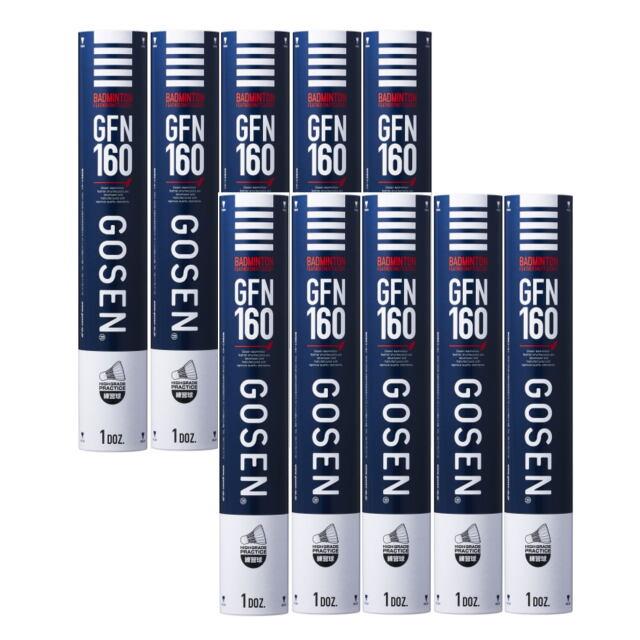 【送料無料】GOSENシャトルコック GFN160 10ダース    品番:GFN160