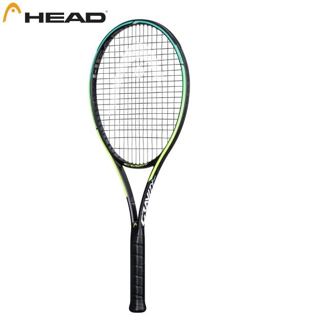 【送料無料】【張り代無料】【サービスガット付き】 ヘッド テニスラケット グラフィン360+グラビティMP<233821>