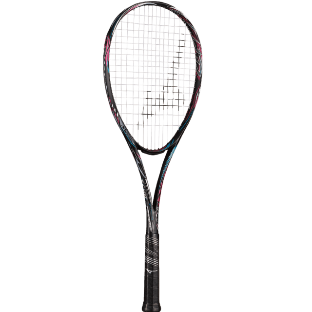 【送料無料】【張り代無料】【サービスガット付き】ミズノ ソフトテニスラケット スカッド 01-R <63JTN05364>