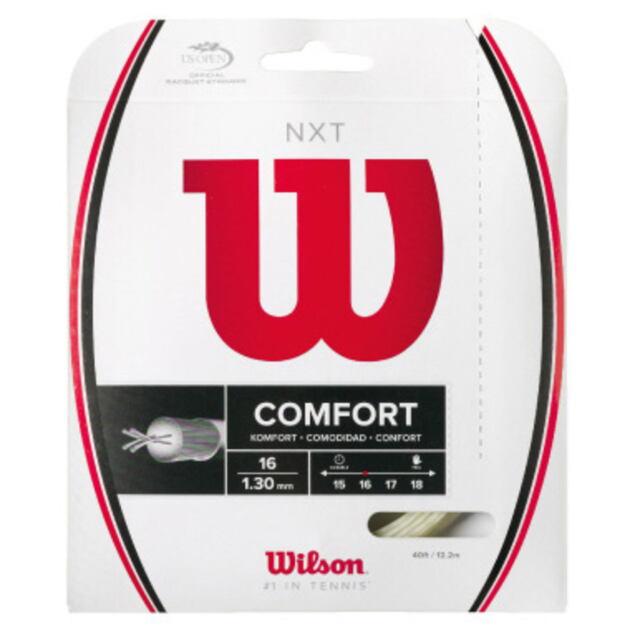 ウィルソン テニスストリング ナイロンマルチフィラメント    NXT16  WRZ942700(商品コード)