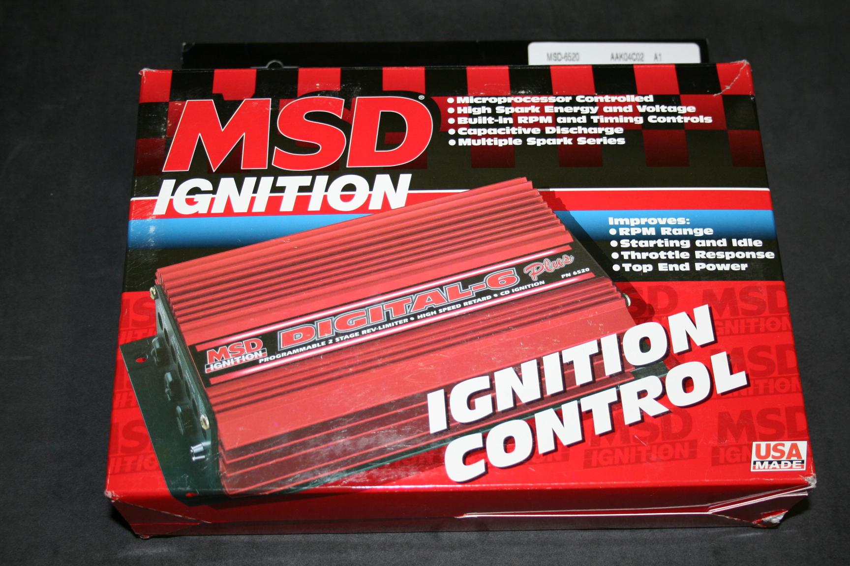MSD イグニッションデシタル6プラス
