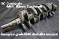 BC crower stroker crankshaft 4AGE 83MM 5AG (ブライアン・クラワー 4AGE 83MMロングストローククランクシャフト)