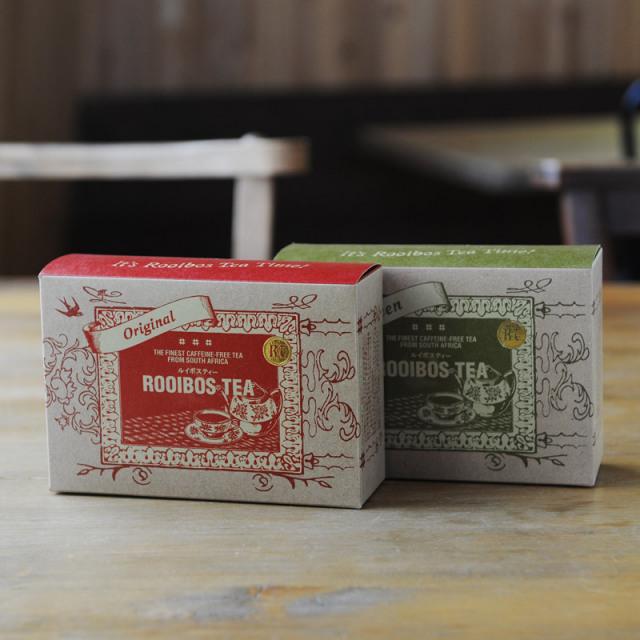 ギフト用:ルイボスティー・茶葉セット 【箱入りラッピング済】2