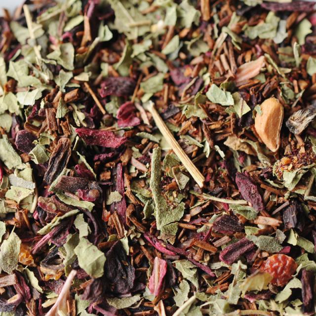 レッド・ハイビスカスティー (ティーバッグ15包)茶葉