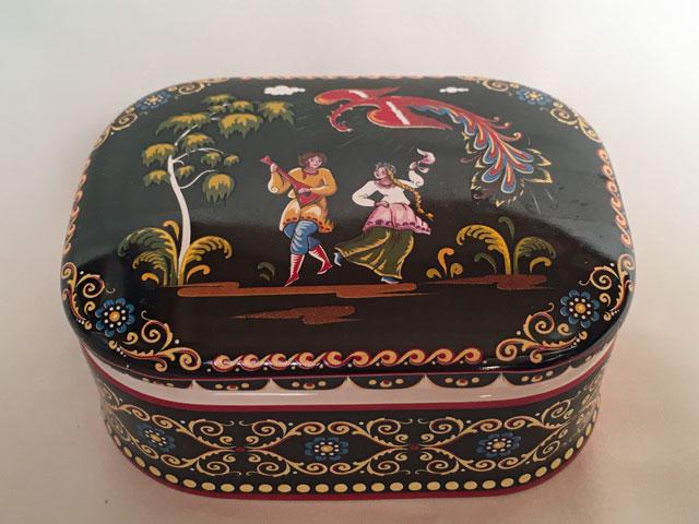 陶器宝石箱