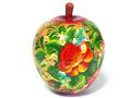 りんごちゃん☆Kuzmina★木製のリンゴ型の小箱