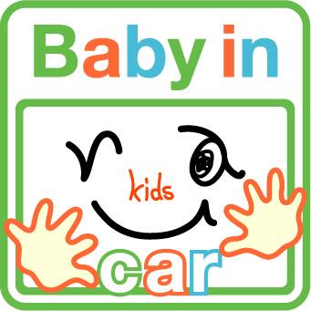 車用baby in carステッカー