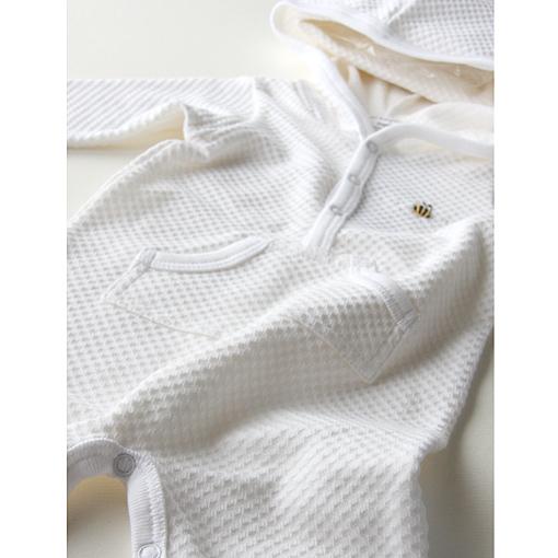 オーガニックコットン ワッフル ベビー服