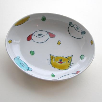 九谷焼 村田菜穂美さん カレー皿