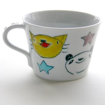 九谷焼 村田菜穂美さんマグカップS