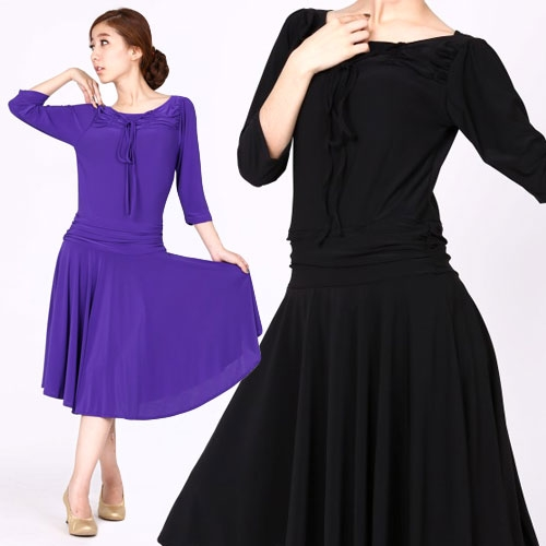 社交ダンス衣装モダンダンスドレス商品番号0041